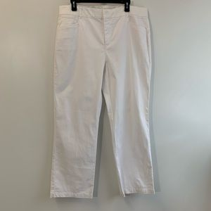 JM Collection white pants / jeans with 5 pockets